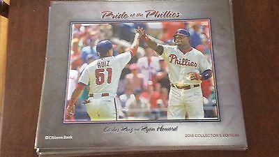 2016 Pride Of The Phillies Print Carlos Ruiz   Ryan Howard Citizens Bank Sga