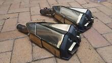 Kawasaki motorcycle exhaust pipes off a Z series Lewisham Marrickville Area Preview