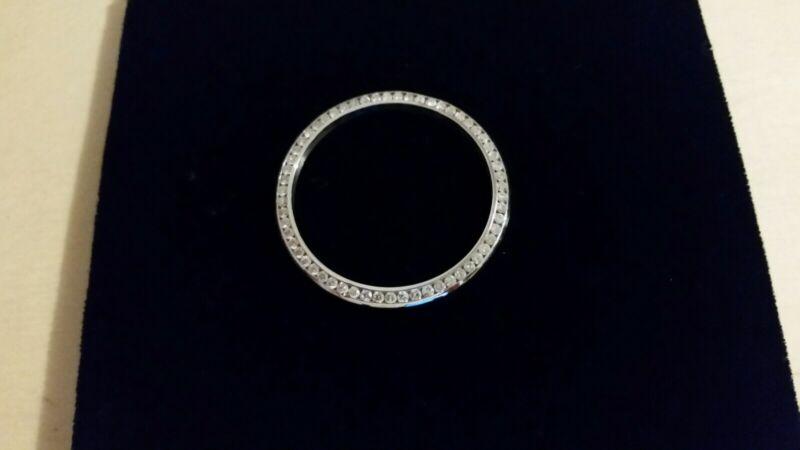 14kt White Gold 1.5 ct Diamond Bezel For 36mm Rolex Datejust
