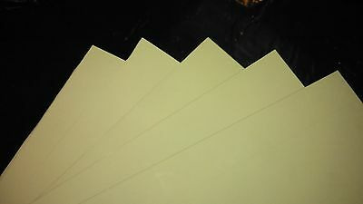 5pcs Lapping Film Burnishing Film Honing Film 0.003 Inch Thick 8x10inch