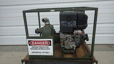 Water Pump 65 Gpm Self-primed Diesel American Marsh Lombardini Nos