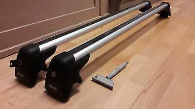 Für BMW X3 E83 5-Tür 03-10 Alu Dachträger an traditionelle Dachrelinge kpl SV1