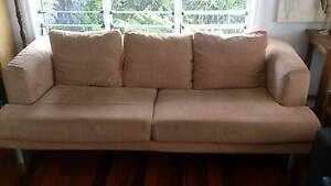 Three Seater Cloth Lounge Banyo Brisbane North East Preview