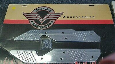 Chrome Windshield Mount -  Kawasaki Vulcan Chrome Windshield Mount Covers K53020-175C