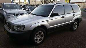2004 Subaru Forester X MY04 Automatic Waratah Newcastle Area Preview