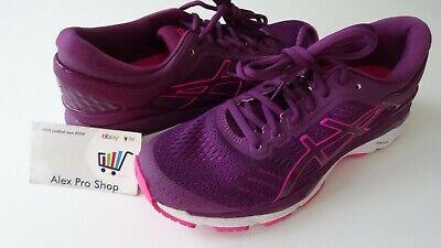 New Women's Size 8 ASICS Gel Kayano 24 Running Shoes Prune/Pink T799N 3320