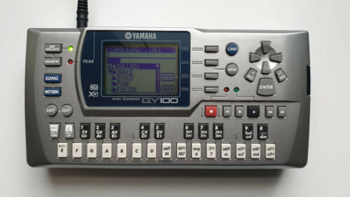 YAMAHA QY100 MUSIC MIDI SEQUENCER with 200+ new patterns