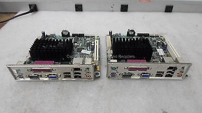Lot Of 2   Intel D525mw E93062 301 Motherboard W  Io Shield   No Ram