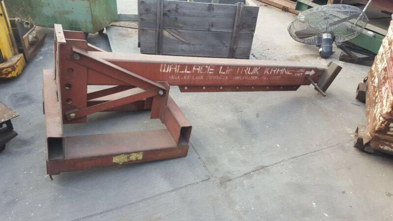 Forklift Jib Hoist Boom