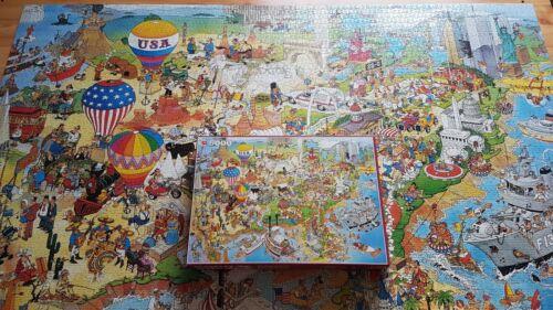 Puzzle USA1 5000 Teile von Jan van Haasteren