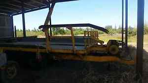 Self Loading Round Bale Trailer Bundaberg Central Bundaberg City Preview