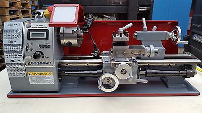 Holzmann Drehmaschine Metall ED 400FD + HM Drehmeissel Set 7 tlg.