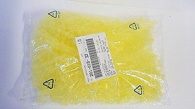 Dynalon 262205 Yellow Micropipette Tip Universal Disposable -- 1000 Pcs
