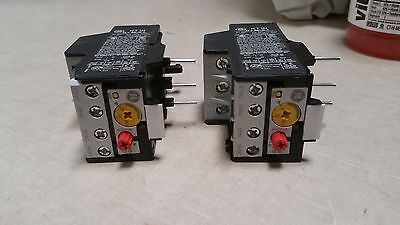 lOT OF 2 NEVER USED General Electric overload relay Nema 1   RT1N    8 - 12 amps ()