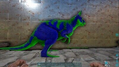 Ark Unleveled Blue/green procoptodon PVE Xbox ONE Official for sale  Shipping to India