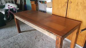 Hand made table plus mirror Yankalilla Yankalilla Area Preview