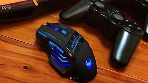 ❃ 3D Full Gaming Mouse Wireless Full Blue LED High QUILITY ❃ Parramatta Parramatta Area Preview