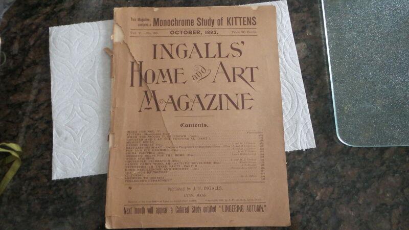 October 1892 INGALLS