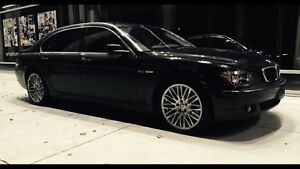 Bmw 7 series tires and rims Negociable