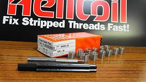 Helicoil Thread Repair Kit M10 x 1.25 x 15.  With 12 U.S Stainless Steel Inserts
