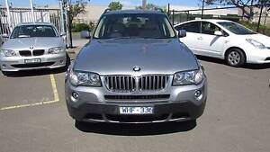 2007 BMW X3 3.0D AUTO D/AWAY NO MORE TO PAY Tottenham Maribyrnong Area Preview