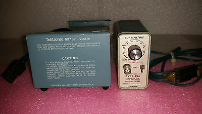 Tektronix Type 134 Current Probe Amplifier Tektronix 1107 Dc Inverter