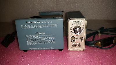 Tektronix Type 134 Current Probe Amplifier Tektronix 1107 Dc Inverter