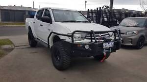 2012 Mitsubishi Triton GLX Duel Cab Ute 4X4 TURBO DIESEL EXTRAS Williamstown North Hobsons Bay Area Preview