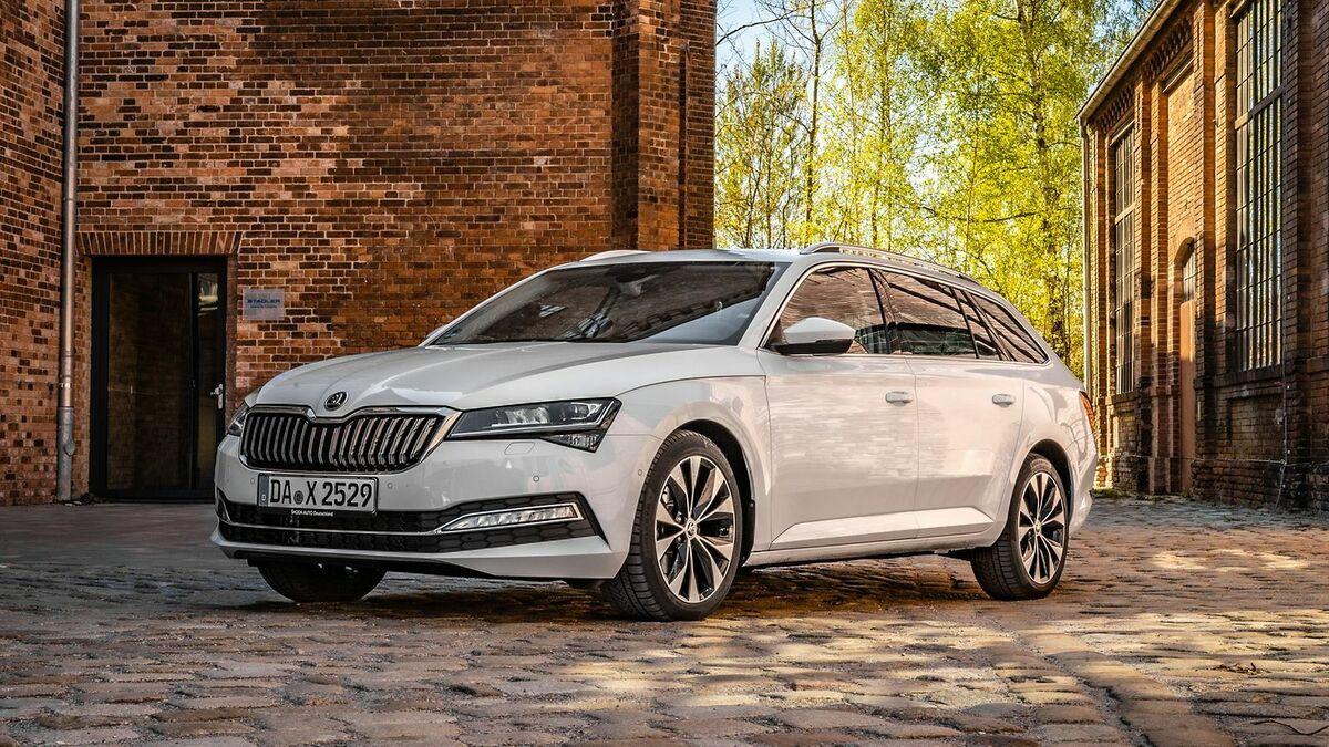 Skoda Superb 3 (2019) Test  12