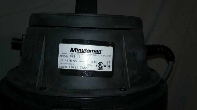 Minuteman HEPA Vaccum