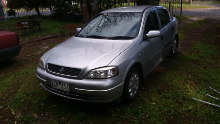 2001 Holden astra  $1800 ono