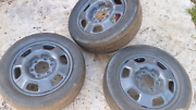 Michelin 215/55/17 tires on 6 stud Hilux rims Buderim Maroochydore Area Preview