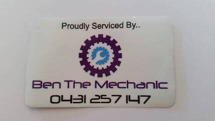 Ben The Mechanic, Mobile Mechanic Newcastle Newcastle Area Preview