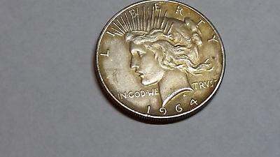 PEACE DOLLAR 1964 D Coin Mythical Fantasy Novelty Never Issued Heads Flip (B)