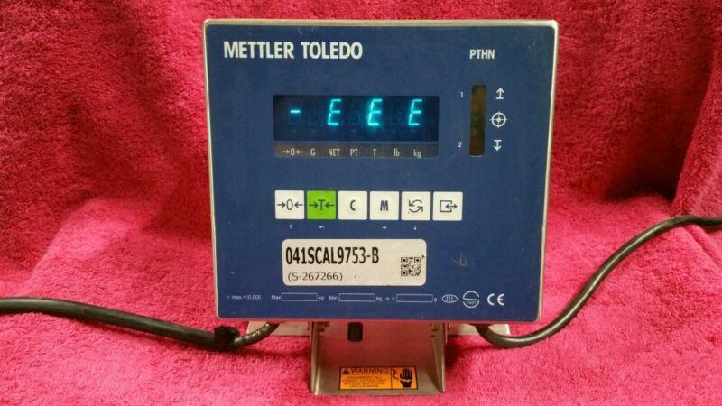 METTLER TOLEDO PTHN-1000-000 DIGITAL SCALE DISPLAY MODEL PANTHER