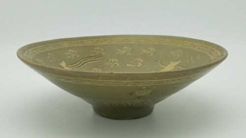 Korean Koryo Dynasty 12th to 13th century birds Pattern Bowl