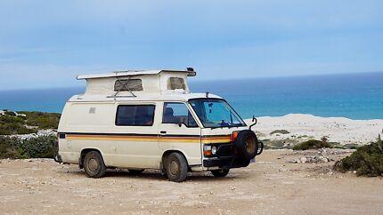 Classic Pop Top Toyota HiAce Campervan 1983 Excellent Conditions