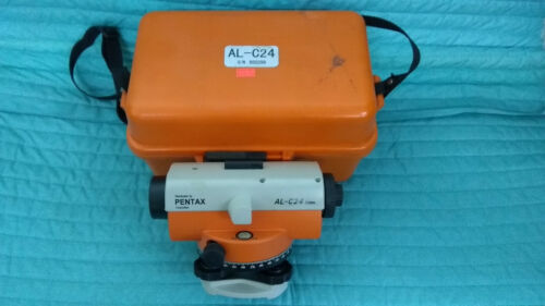 Pentax AL-C24 Level With Case, Plumb Bob, and Allen Wrenches