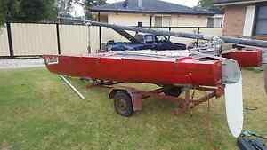 16 ft Mosquito Catamaran and trailer Dapto Wollongong Area Preview