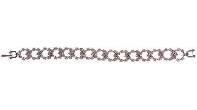 JOOMI LIM Let them Eat Cake Crystal Bracelet - Pink/Rhodium NEW