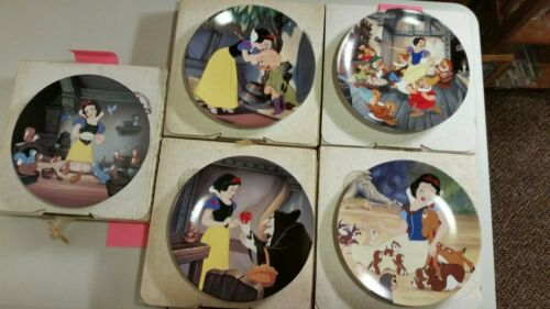 Bradford Exchange Snow White Collectible Plates from 1991