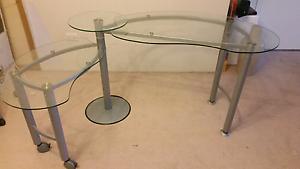 Glass desk Miranda Sutherland Area Preview