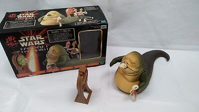 Hasbro Star Wars Episode 1 Jabba The Hutt Water Spitting Gong Chuba Play Set  gebraucht kaufen  Versand nach Germany