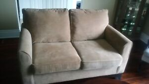 like new made in Canada Leons love seat and couch