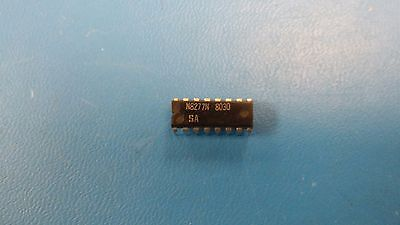 2 Pcs N8277n Signetics Dual 8-bit Shift Register Pdip 16pin
