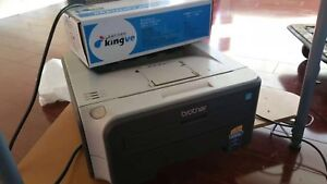 brother laser mono printer hl2140 with one extra new toner
