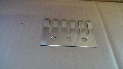 IBANEZ TREMELO SPRING PLATE Part # 2CL211C CHROME FOR  LO-TRS II tremolo