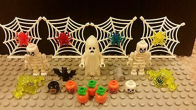 Lego NEW Halloween Accessories - Skeletons, Ghosts, Pumpkins, Spiders, AND MORE!