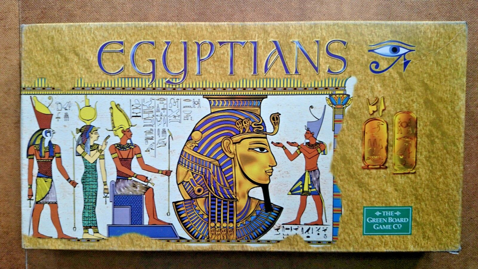Egyptians  By Green Board Games 2001