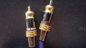 15 foot subwoofer cable for car audio